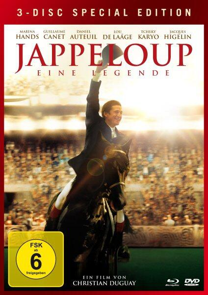 3-Disc Special Edition: Jappeloup - Eine Legende (DVD + Blu-ray)