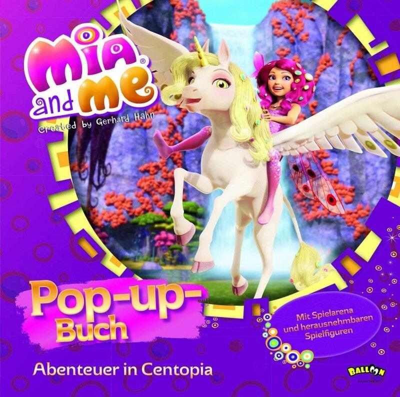 Mia and me: Pop-up-Buch