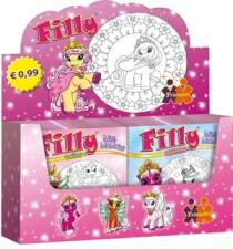 Filly. Mini-Mandalas 25-28