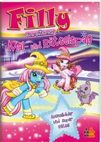 Filly Ice Witchy. Mal- und Rätselspaß