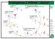 Lehr-/ Pferdetafel (A4) - Voltigieren L-Pflicht - Einzel