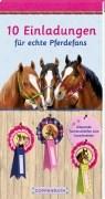 10 Einladungskarten für echte Pferdefans