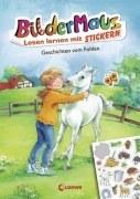 Bildermaus - Lesen lernen mit Stickern: Geschichten vom Fohlen