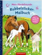 Meine Pferdefreunde - Rubbelsticker Malbuch
