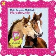 Mein Rahmen-Malblock Pferdefreunde