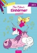 Mein Malbuch Einhörner