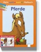Mein kunterbuntes Malbuch - Pferde