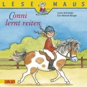 Lesemaus Band 16: Conni lernt reiten