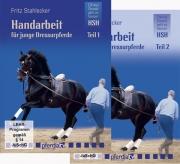 DVD-Set Handarbeit für junge Dressurpferde 1 + 2