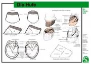Lehr-/ Pferdetafel (A4) - Die Hufe