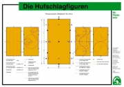 Lehr-/ Pferdetafel (A4) - Die Hufschlagfiguren