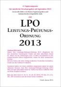 Leistungs-Prüfungs-Ordnung 2013 (LPO) - 4. Ergänzung