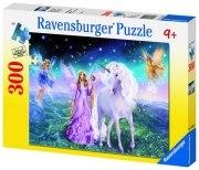 300 Teile XXL Puzzle: Magisches Einhorn