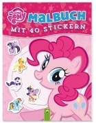 My Little Pony - Malbuch mit 40 Stickern