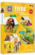 Was ist was 4er DVD-Box Tiere