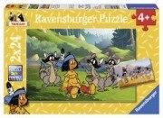 Yakari und seine Freunde (2x 24 Teile Puzzle)